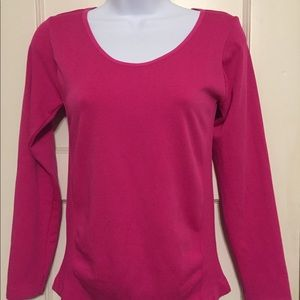 5 for $25 GG Collection Hot Pink Long Sleeve